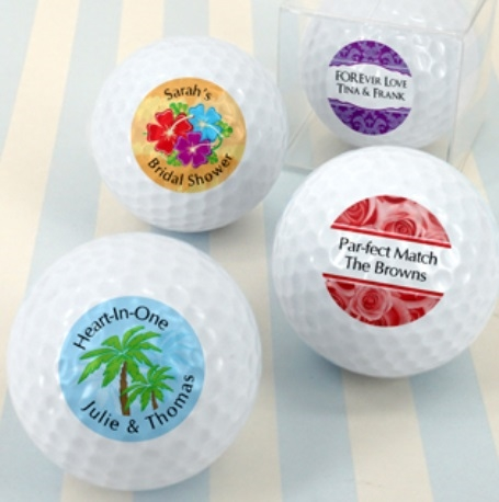 Golf Ball Wedding Favors On Sale At The Wedding Shoppe Canada