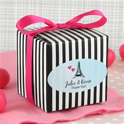 "2"" x 1"" Oval Favor Label (Set of 30)"