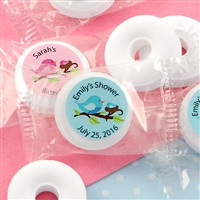 Personalized Baby Life Savers Mint Favors