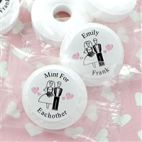 Personalized Life Savers Mint Favors