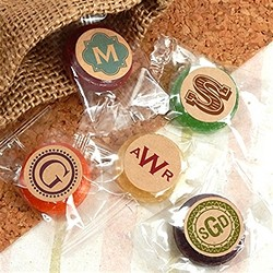 Monogram Kraft Life Savers Candy