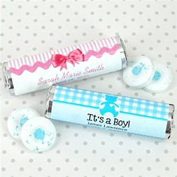 Baby Shower Breath Savers Mint Rolls