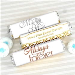 Metallic Foil Breath Savers Mint Rolls