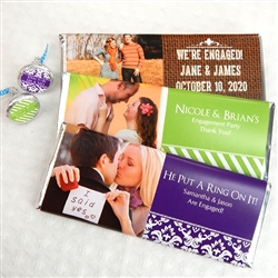 Personalized Photo Hershey's Chocolate Bar Favors