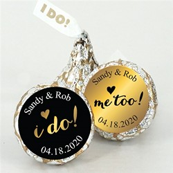 "Me Too ""I Do"" Hershey's Kisses (Set of 200)"