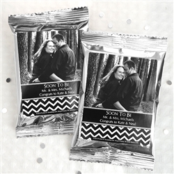 Personalized Photo Coffee Favors (Silver)