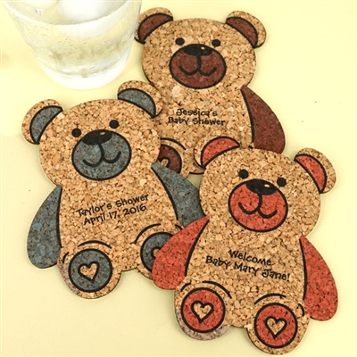 Baby Bear Cork Coaster