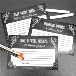 Chalkboard Advice Cards (Set of 25)