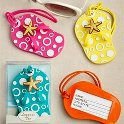 Flip Flop luggage tags (package of 24)
