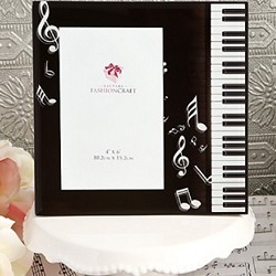 Music Design Glass Photo Frame