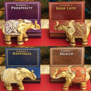 Decorative Mini Elephants (package of 4)