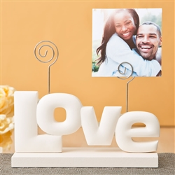 Charming Rose white Love photo holder