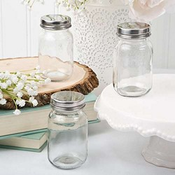 Perfectly Plain Glass mason jar