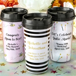 DOUBLE WALL INSULATED COFFEE CUP