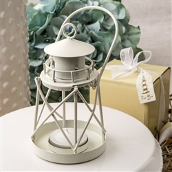 Lighthouse Luminous metal lantern