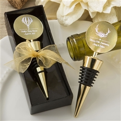 Wine Wedding Favors | Bottle Stopper Wine Charm Favours