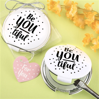 BE-YOU-TIFUL COMPACT MIRROR FAVORS