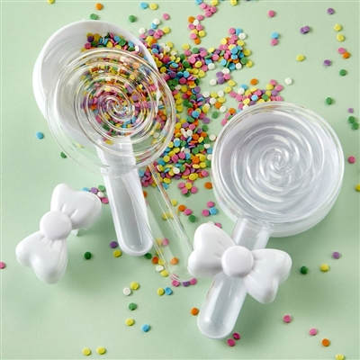 Fillable Lollipop Favor Container