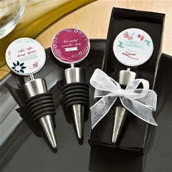 VINTAGE DESIGN Wine bottle stopper favors