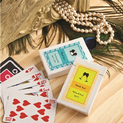 Design your Own Collection Playing Cards with Personalized Sticker