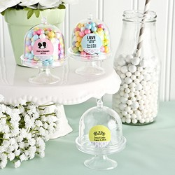 Personalized Cake Stand Plastic Box