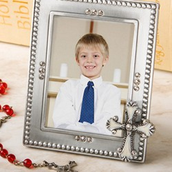 <em>Regal Favor Collection</em> cross themed frames