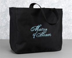 Black Tote Bag - Matron of Honor