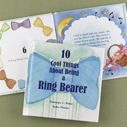10 Cool Things About Being a Ring Bearer Book