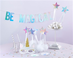 Enchanted Unicorn 49 Piece Party Decor Kit