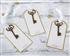 Gold Key Escort Card (Set of 12)