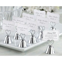 Kissing Bell Place Card/Photo Holder (Set of 24)