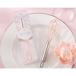 """The Perfect Mix"" Pink Kitchen Whisk"