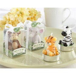 Born to be Wild Animal Candles (Set of 4 Assorted)