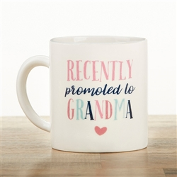 Promoted To Grandma 16 Oz. Mug