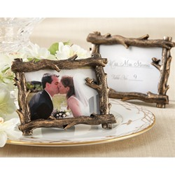 Scenic View Tree-Branch Place Card/Photo Holder