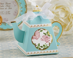 Tea Time Whimsy Teapot Favor Box (pkg of 24)