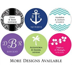 Personalized Round Stickers (Set of 48)