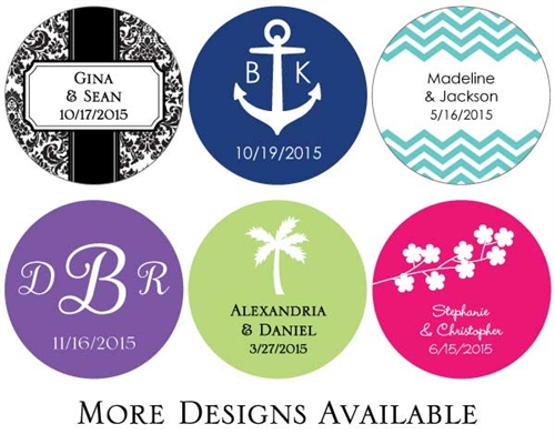 Personalized Wedding Stickers Canada