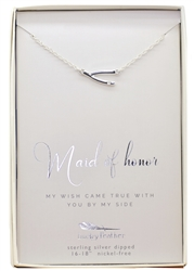 My Wish Came True - Maid of Honour Necklace