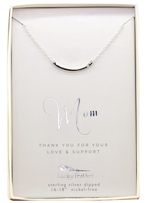 Thank You for your Love and Support - Mom Necklace