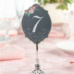Chalk Style Flower Table Numbers (1-24)