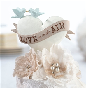 """Love Is In the Air"" Caketop"