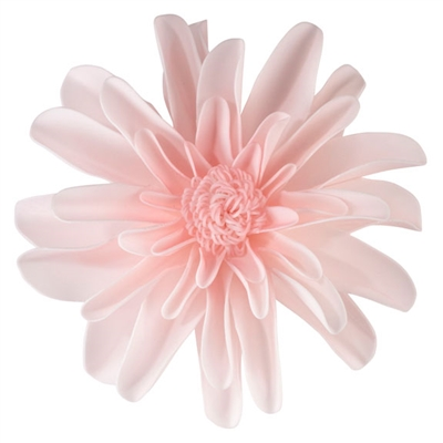 "Set of 2 Pink 7.5"" Flower Decorations"