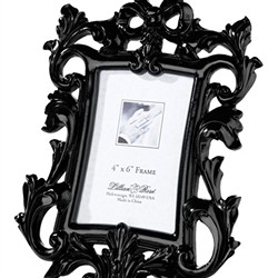 Black Scroll Frame