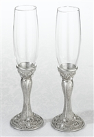 Jeweled Toasting Glasses
