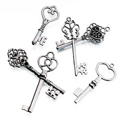 Set of 24 Silver Keys