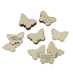 Guest Signing Butterflies - Set of 49