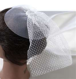 Veil Headpiece White