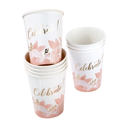 Bridal Shower Cups (PKG of 8)