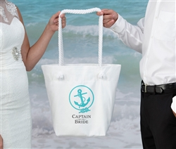 Captain Bride Beach Bag